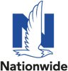 Nationwide Logo with a blue N letter and a white eagle