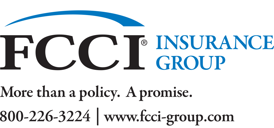 FCCI Insurance Group Logo in black and blue colors