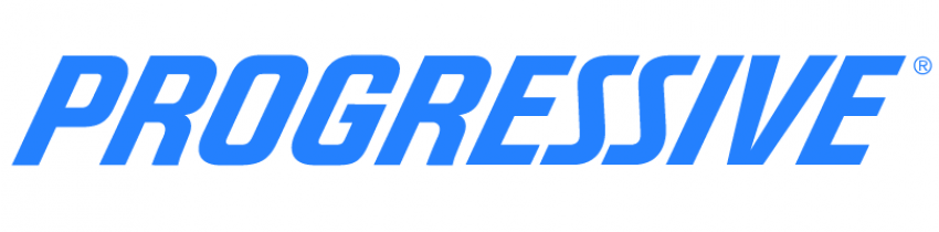 Progressive Logo in bright blue